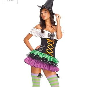 Brand new Deadstock Playboy Sexy Witch costume